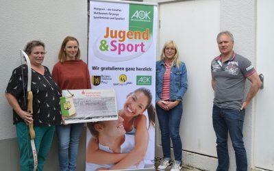 SG Marnheim mit AOK-Gesundheitspreis ausgezeichnet