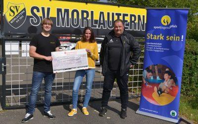 SV Morlautern erhält 500 Euro für Kinderschutz