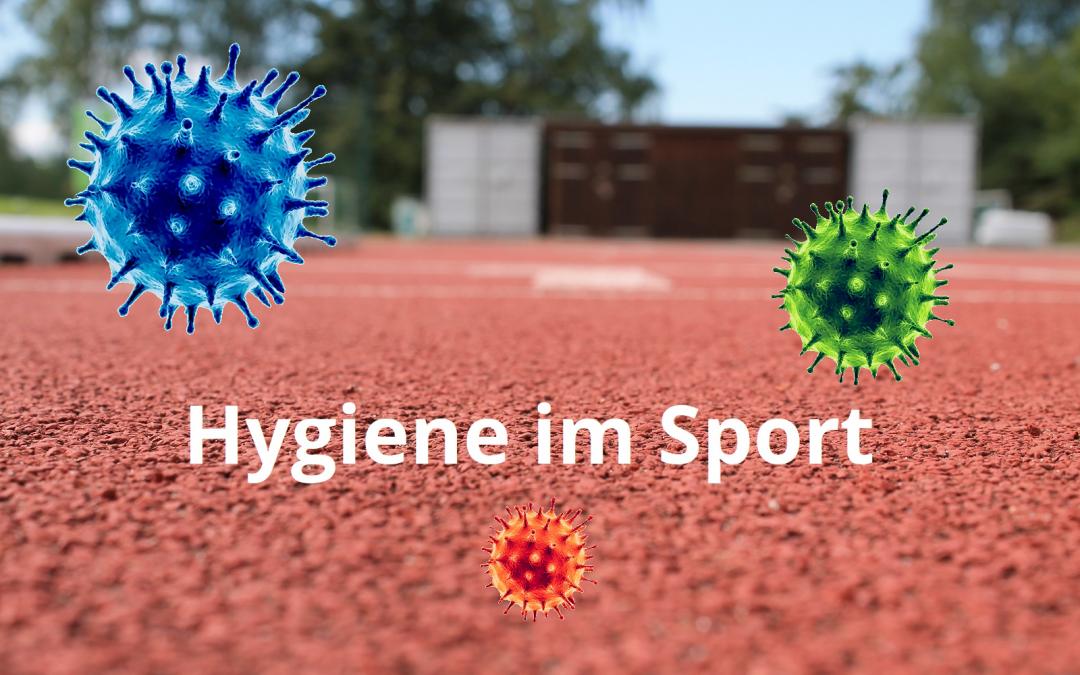 """Bilden Sie sich weiter: """"Hygiene im Sport"""""""