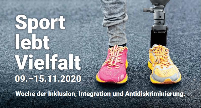 """LSB-Aktionswoche """"Sport lebt Vielfalt"""" von 9. bis 15. November"""