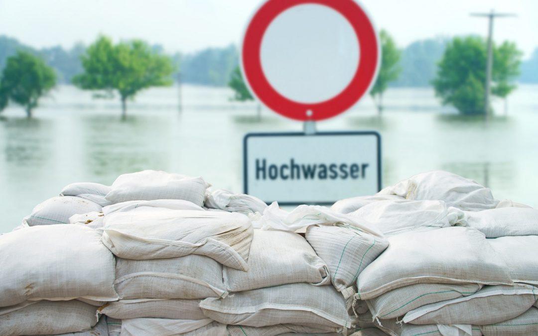 Flutkatastrophe: Die Sportfamilie steht zusammen