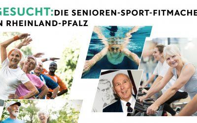 """Horst-Eckel-Stiftung und vereinsleben.de suchen die """"Senioren-Sport Fitmacher"""""""