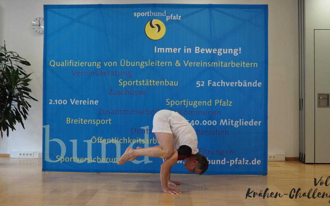 """Sportliche Herausforderung: die """"Krähen-Challenge"""""""